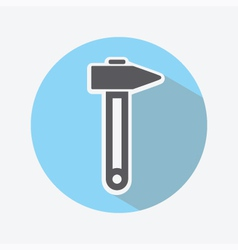 Hammer Color Icon vector image vector image