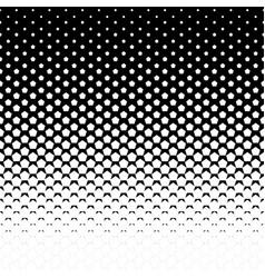 pentagon halftone background vector image vector image