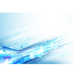 abstract arrows and rectangles technology vector image