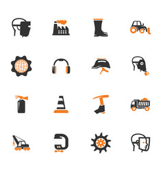 power tools icons set vector image