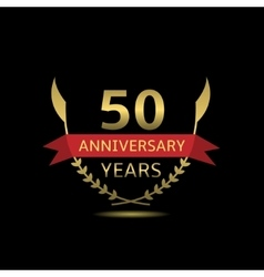 50 Anniversary years vector image