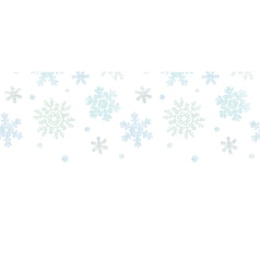 Blue Christmas Snowflakes Textile Texture vector