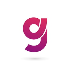 Letter G number 9 logo icon design template vector image