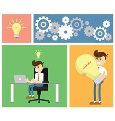 Start up business concept design vector