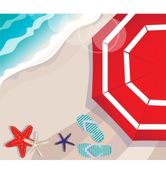 Summer vacation at the seaside vector image