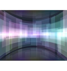 Abstract background with curved rectangulars vector image