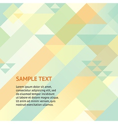 Abstract geomitric background vector