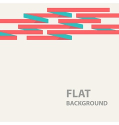 Flat background 7 vector