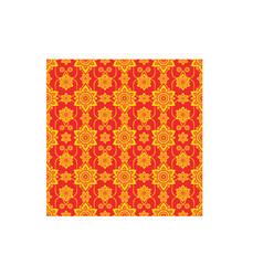line thai thailand art continuous pattern culture vector image