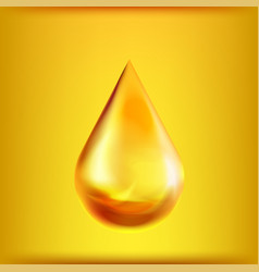 Oil drop symbol isolated on background vector