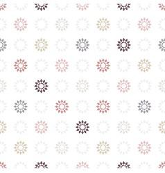 Seamless pattern of geometric elemen vector