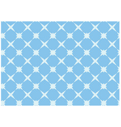 Simple light blue seamless geometric pattern vector