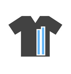 T shirt with lines vector