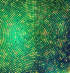 Emerald halftone background vector