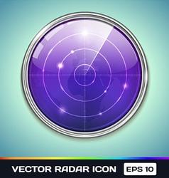 Radar Icon vector image vector image