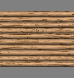 Seamless pattern logs vector image
