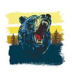 Angry Bear vector