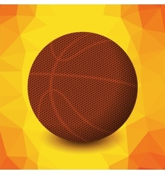 Basketball Orange Icon vector image