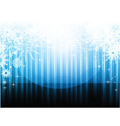 decorative christmas vector image