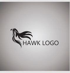 Hawk logo ideas design vector