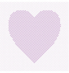 heart shaped love concept background design - vector image