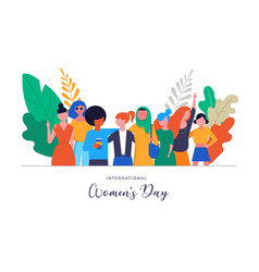 international women s day vector image