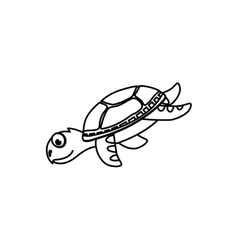 Marune turtle animal vector