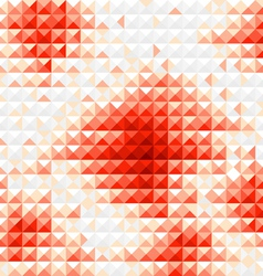 Red diamond mosaic background vector