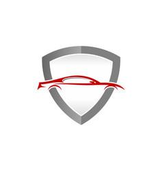 Security automotive logo icon design vector