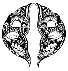 Tattoo pattern vector image