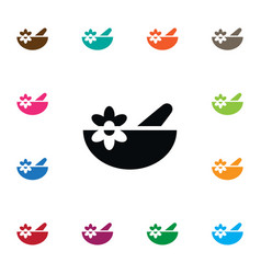 Isolated healthy food icon bowl element vector