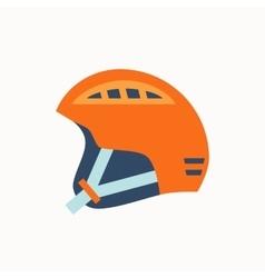 Colorfu sport helmet i vector image vector image