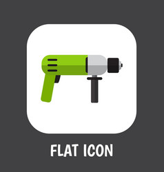 of electrical symbol on drill vector image