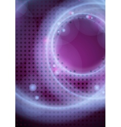 Abstract Neon Circles vector image