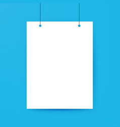 Blank Poster Template vector