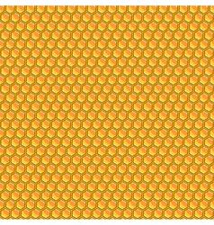 Design seamless honeycomb pattern vector