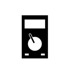 Digital multimeter icon vector