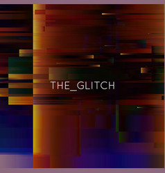 glitch background digital image data vector image