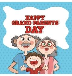 Grandparents design people vector