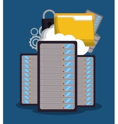Internet security related icons image vector