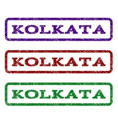 Kolkata watermark stamp vector
