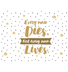Positive inspirational quote vector