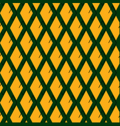 seamless repeating pattern of rhombuses vector image