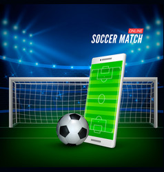 sports betting online bets web banner concept vector image