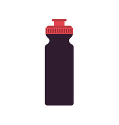 Sports water bottle icon image vector