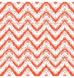 Zigzag pattern in tropical colors vector