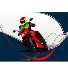 al 0732 moto 02 vector image vector image