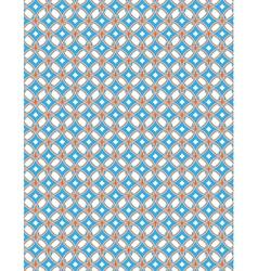 Blue orange pattern background vector