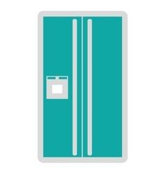fridge isolated icon design vector image