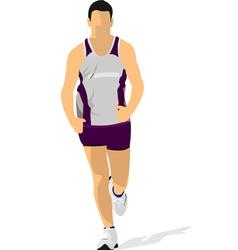 Al 0734 jogging 01 vector